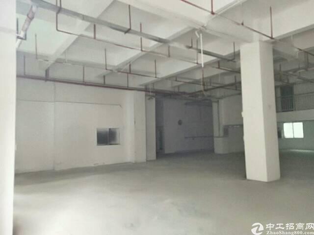 西乡黄麻布大型工业园区一楼750平厂房招租