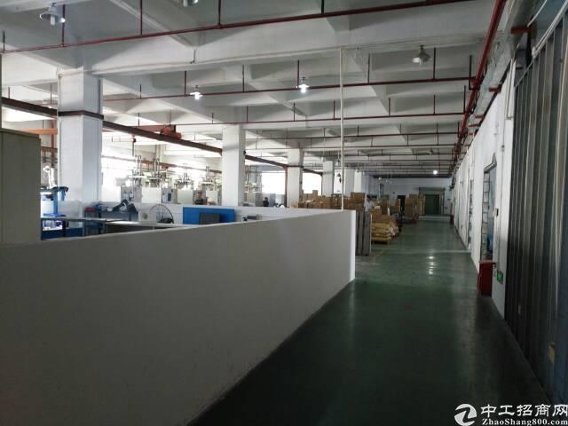 福永和平沿江高速路口美盛工业园楼上新出带装修3000平方厂房
