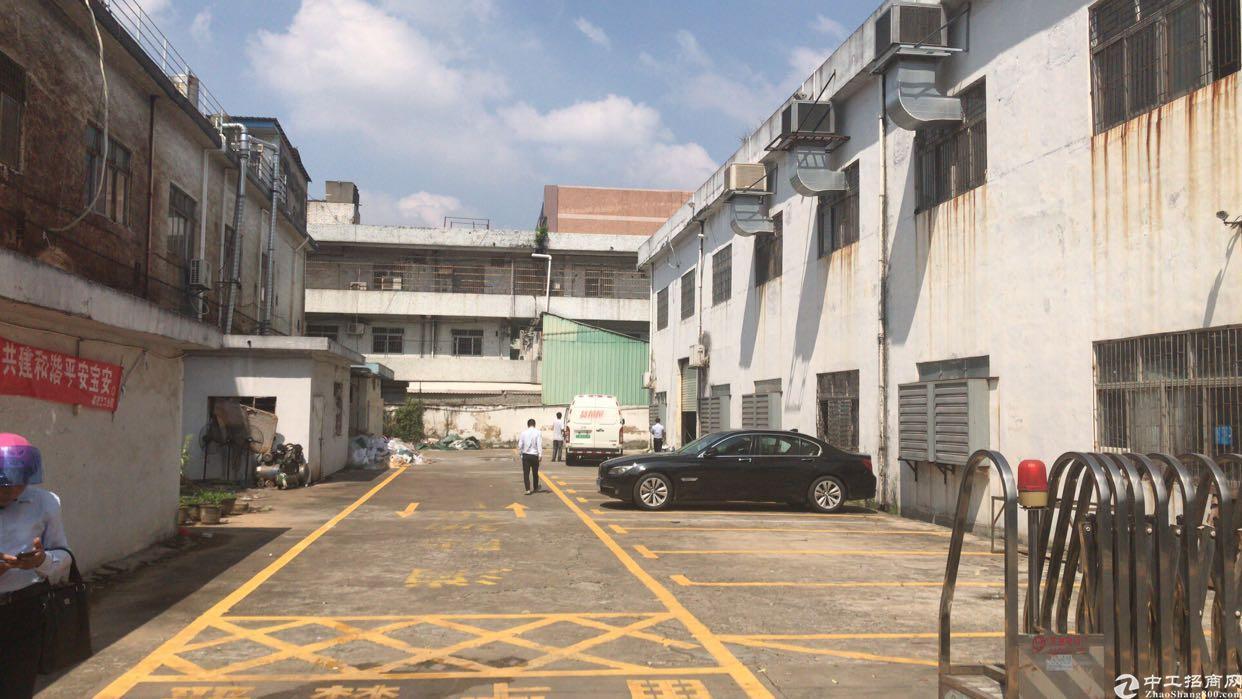 松岗镇中心地铁口新出一楼实际面积厂房出租1300平方