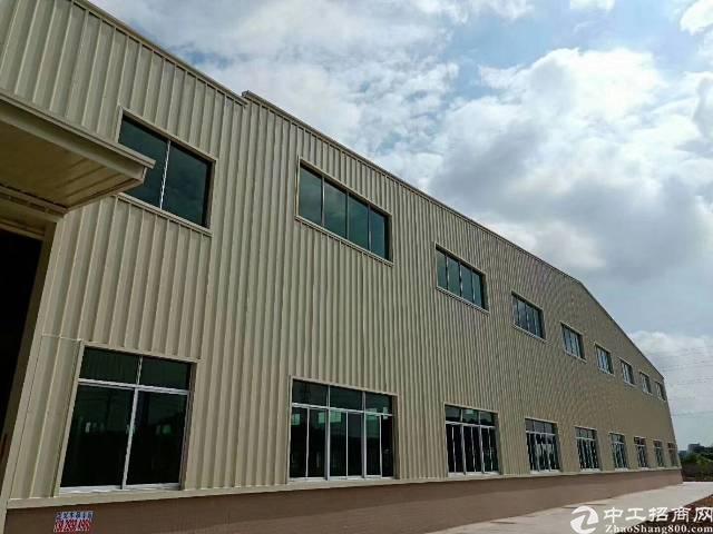 企石镇山脚下独院钢构厂房4栋共8000平方,大小可分租。