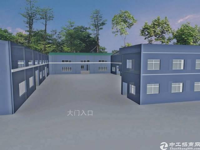 全新钢结构厂房10000平方出售
