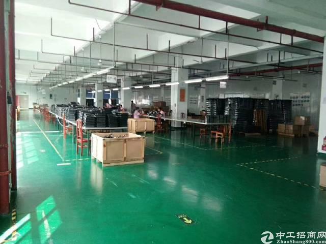 龙岗带装修办公室1500平米厂房出租