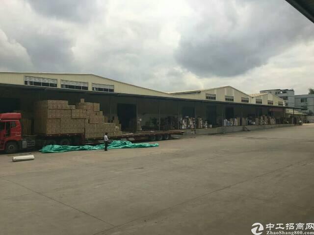 横岗新出11000平钢构仓库,带卸货平台,可抗13级台风
