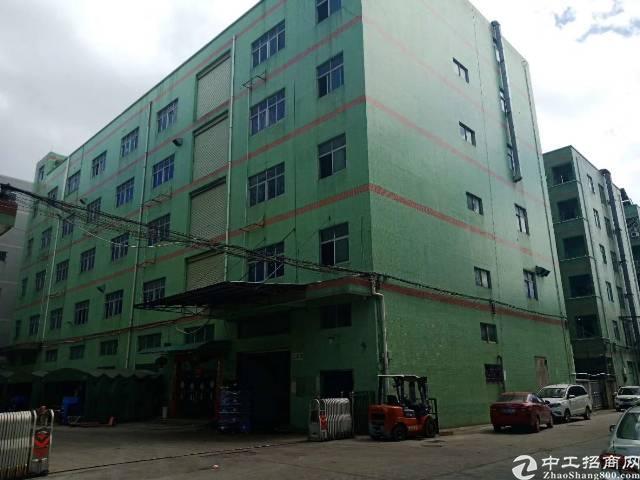 布吉上李郎工业园新出一栋厂房可分租