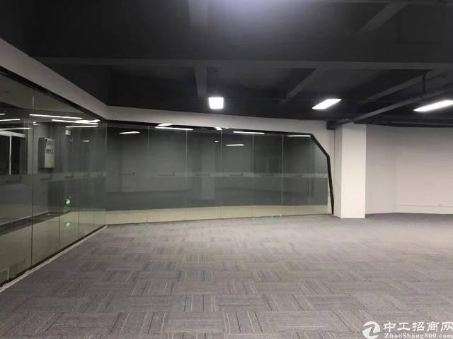 西乡碧海湾双地铁口附近办公写字楼55-365平米自由组合分配
