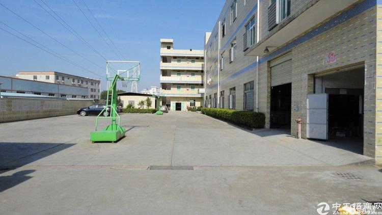 坪地原房东独院厂房2楼分租1000平米,带精装修办公室地坪漆