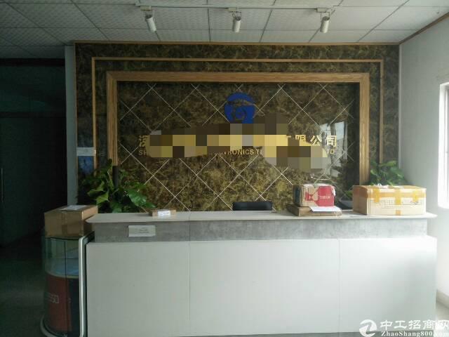 福永大洋田楼上1500平方厂房出租