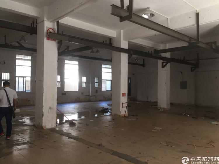 沙井一楼带行车厂房出租450平