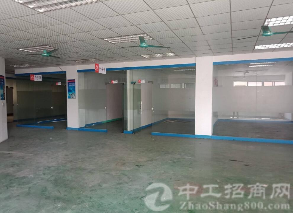 沙井中心新出独门独院四层厂房单层1750平方可分租