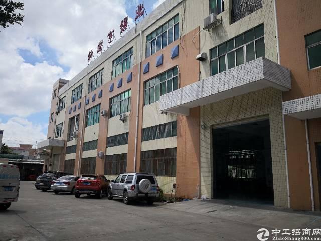 沙井107国道附近新出楼上1200平厂房招租