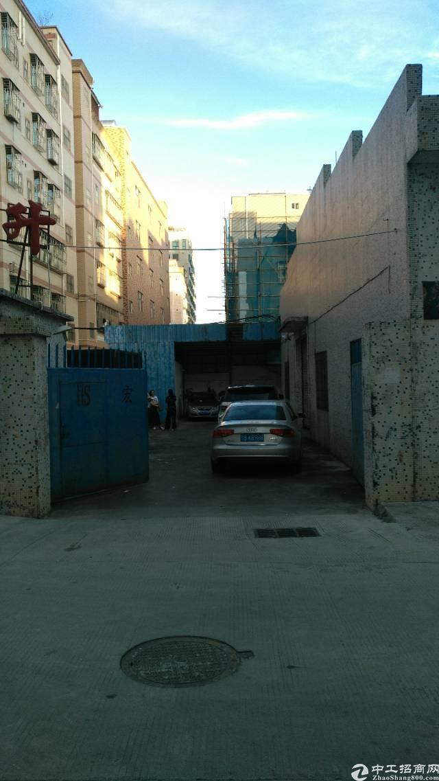 龙岗龙东新出独院滴水七米钢构厂房加办公室500平招租