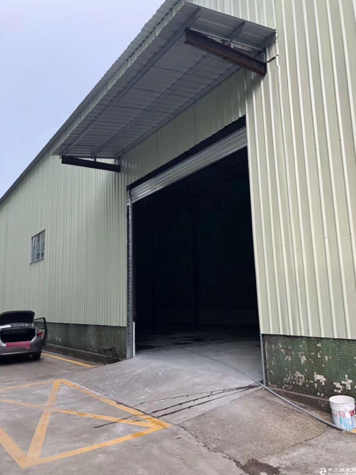 布吉李朗全新钢结构厂房一楼