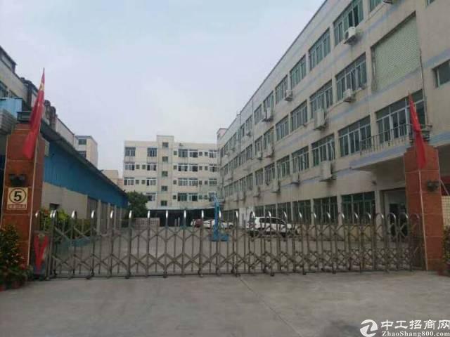 工业区带地皮漆,红本厂房1250平米招租!