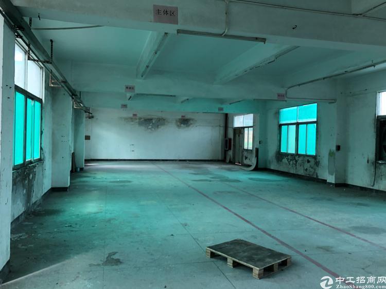 横岗大康二楼厂房仓库500平米出租有3吨货梯交通便利