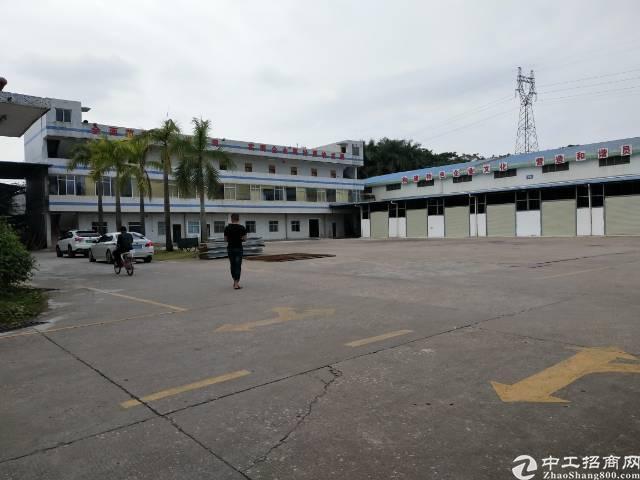 龙岗高速路口钢结构厂房仓库3500平米出租大小分租