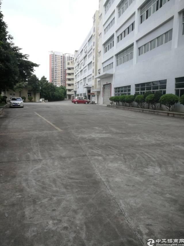 横岗安良三楼整层1500平米标准厂房招租-图3