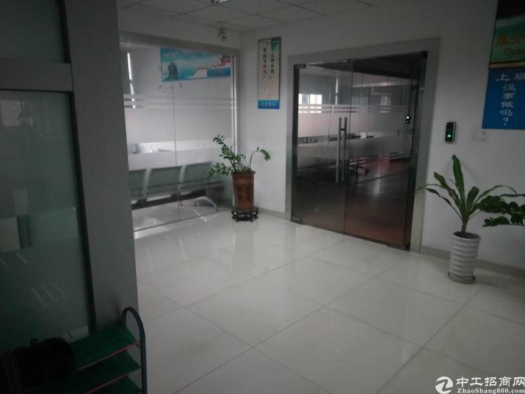 凤岗雁田3楼整层1500平米精装修厂房出租