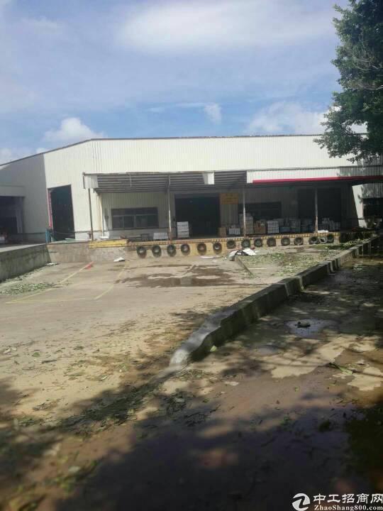 海吉星附近白坭坑新出单一层仓库3800平带卸货平台,可分租