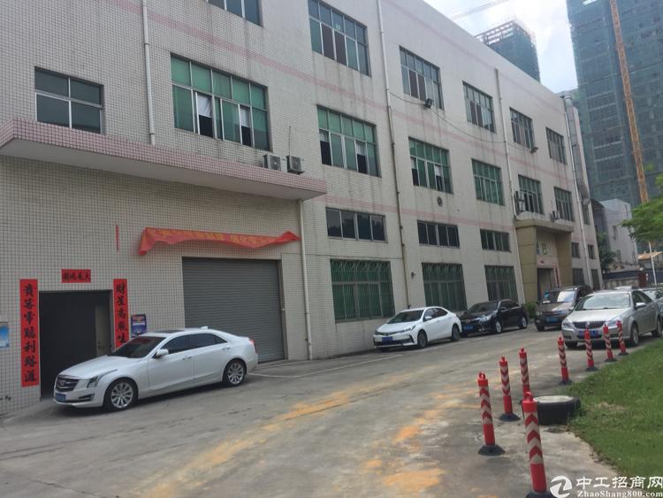 松岗高速出口新出原房东一楼标准厂房600平米带装修出租