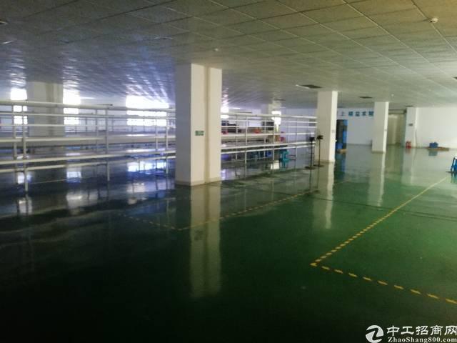 沙井洪田工业区三楼厂房700平方出租