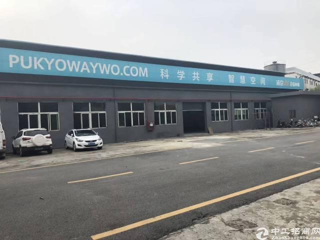 松岗塘下涌广田路边6000平方10米钢构厂房出租