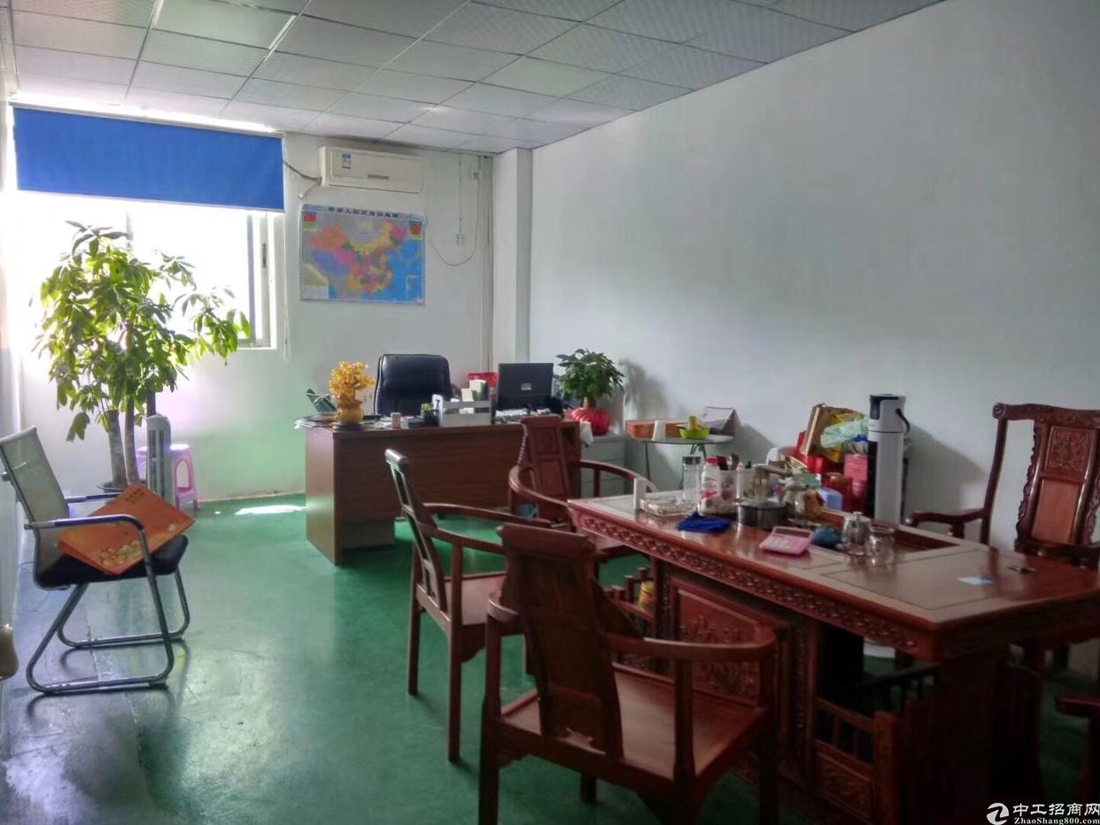 福永镇凤凰107国道边四楼带装修700平厂房招租