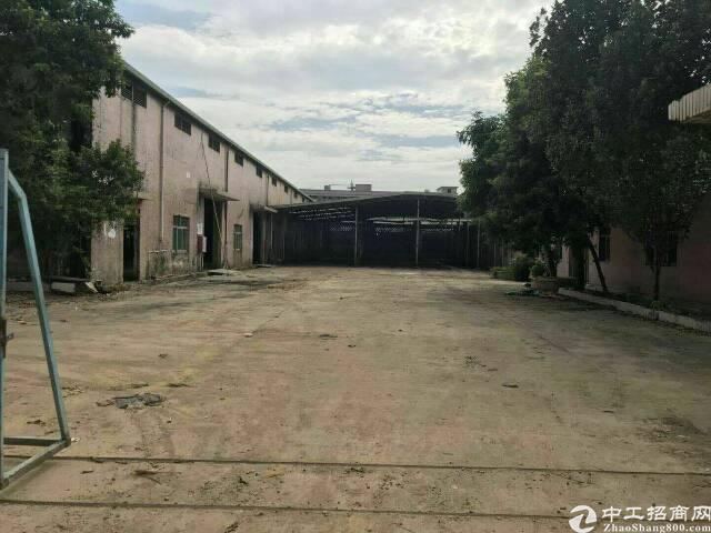 东莞大朗原房东1600平米单一层厂房