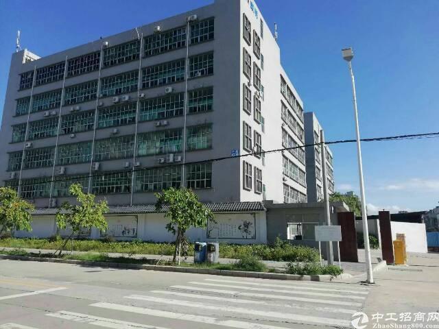 公明龙大高速出口新出楼上1640平方带装修厂房出租