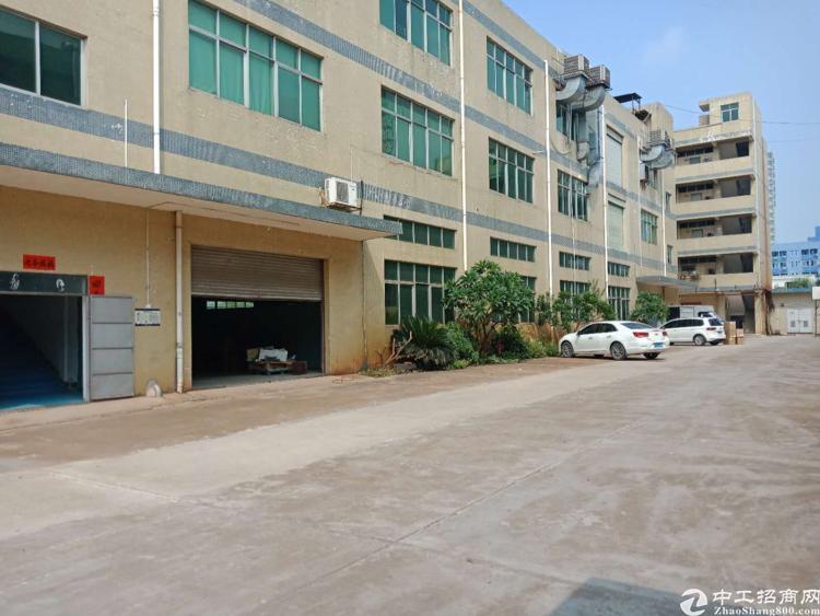 松岗汽车站对面一楼2000平方整层原房东厂房招租