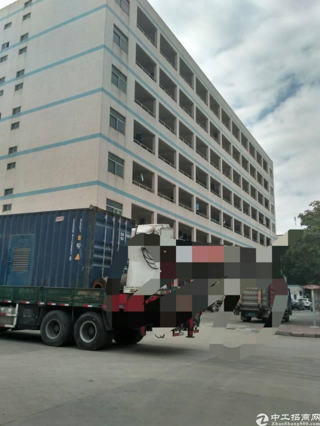 福永原房东无公摊5栋厂房2栋宿舍每栋4层6000㎡实际面积出