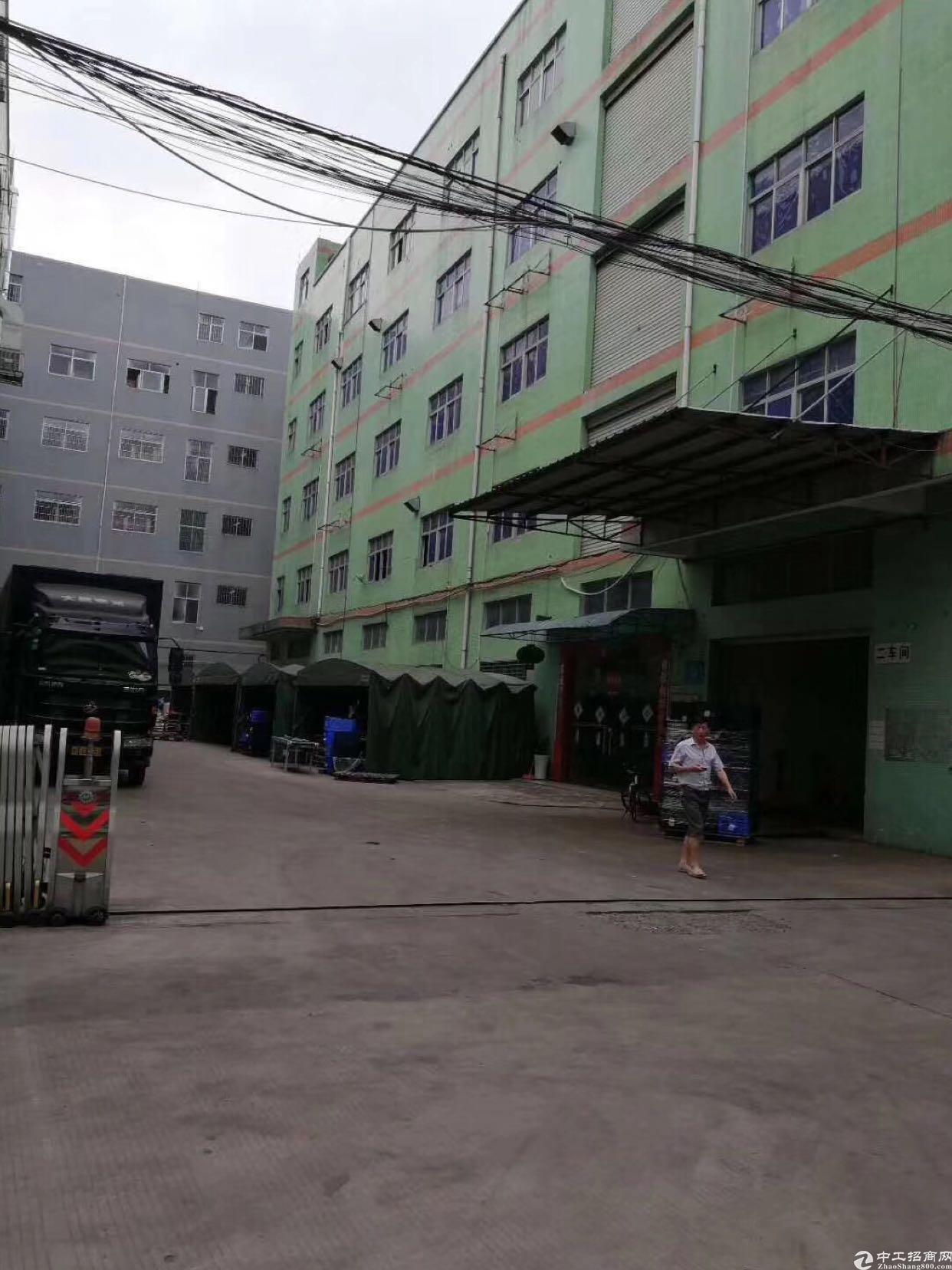 布吉李朗新出1楼720平厂房,最小128起分,空地大