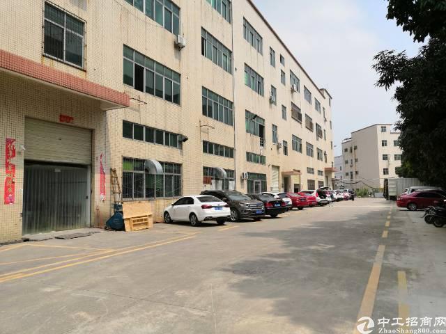 沙井国道边2楼整层1500平米重工厂房出租