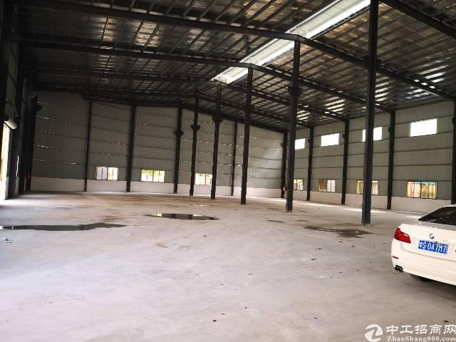茶山镇新建钢构厂房招租