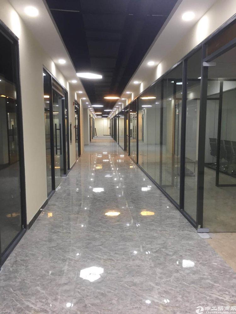 丹竹头地铁站新出精装写字楼5000平大小可分租