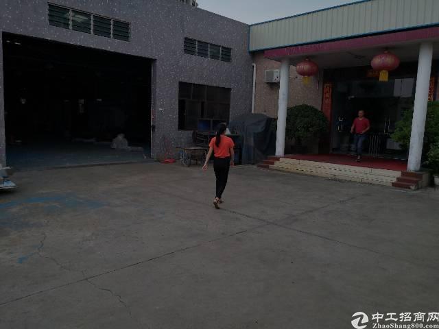 茶山镇独院单一层厂房2600平方出租