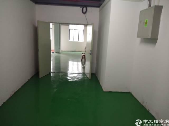 福永塘尾新出楼上160平厂房出租带前台红本