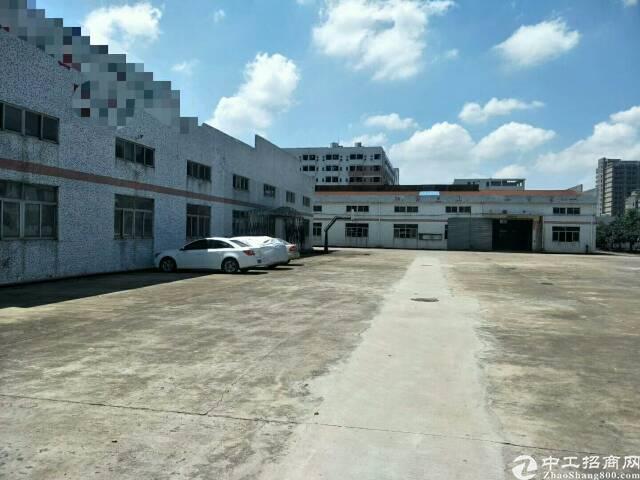 公明南光高速出口新出20000平方独院钢构出租