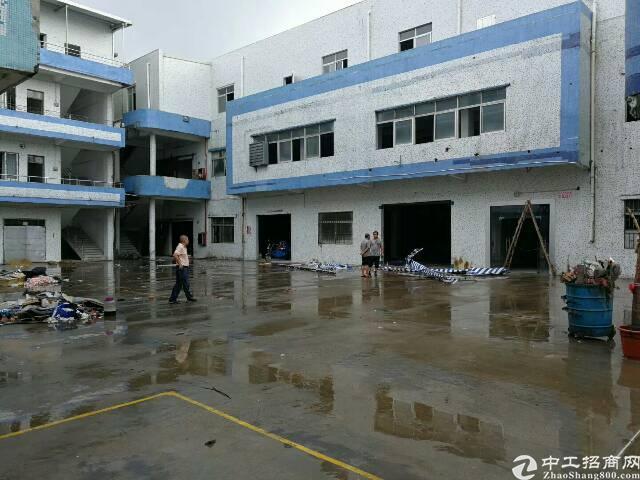 黄江镇4500平工业用地独门独院三层标准厂房招租
