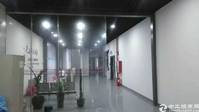 福永宝安大道附近大型工业园区1800平米整层带装修厂房出租