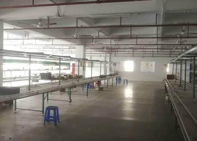 横岗安良三楼整层1500平米标准厂房招租