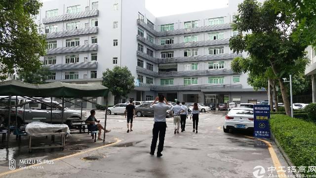 深圳南山留仙洞地铁口旁处有高新科技产业园厂房5600平厂房租-图2