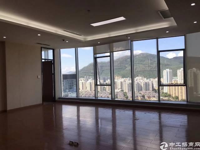 西丽侨香路甲级精装写字楼24楼租金150/平