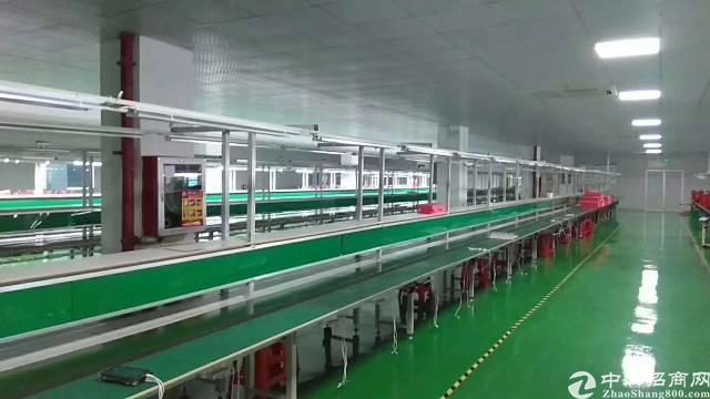 福永宝安大道附近大型工业园区1800平米整层带装修厂房出租-图7