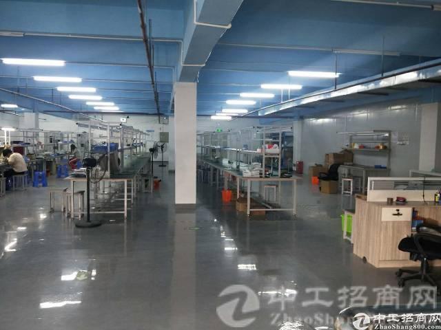 厚街镇宝塘村新出标准厂房三楼600平米招租