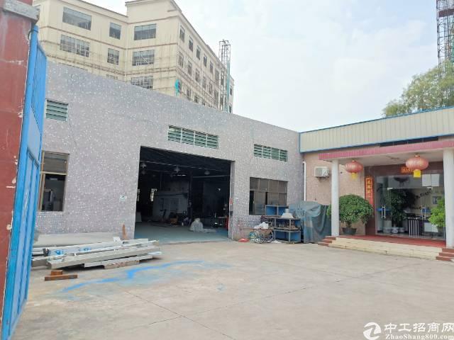 茶山镇寒溪水村  新出2300平米单一层独院厂房