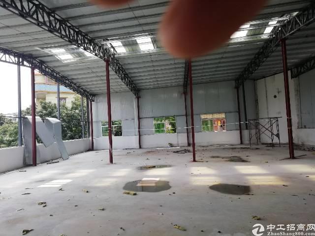 凤岗镇竹塘村新出二楼全新钢构800平米适成熟工业园安全可靠