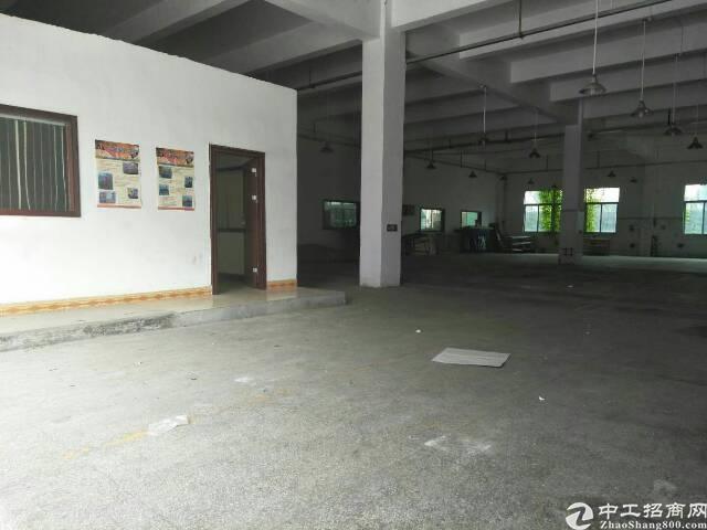 横岗大康独院一楼3000平,5.3米高,空地大,沙菏路边