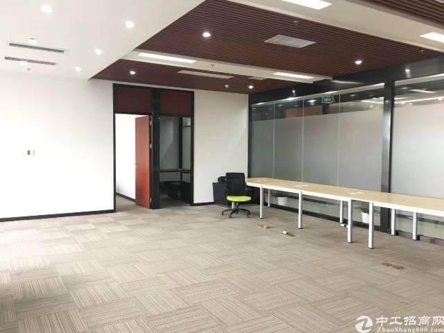 南山西丽侨香路边甲级精装写字楼110元/平图片4