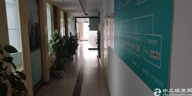 坂田贝尔路主干道旁新出带装修楼上3000平写字楼出租可分租图片8
