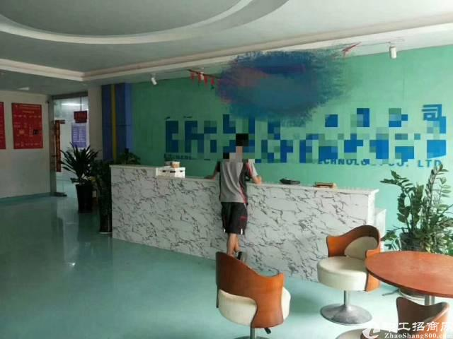 福永塘尾一楼1400平方二楼1600平方实际面积出租